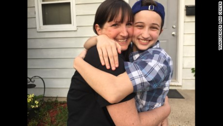Melissa Whitaker, left, and her son, Ash.