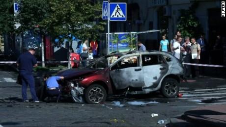 Prominent journalist killed in Kiev car bombing