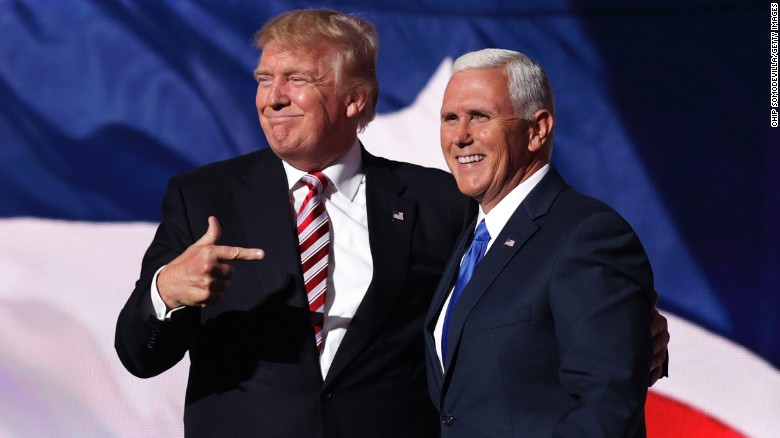 Mike Pence: Trump 'serious' about Obama, ISIS