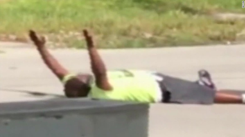 Police shoot unarmed man with his hands up