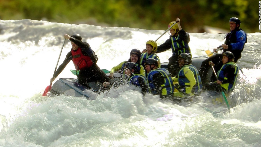 There are endless energetic options. Arouca Geopark is great for white-water rafting.