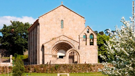 The Rota do Romanico covers 58 monuments in the valleys around Douro.