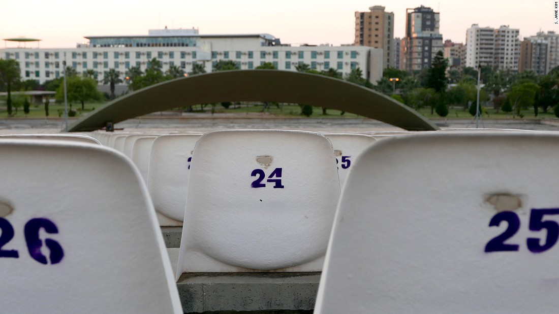 The concrete stage with its sail-shaped sound amplifier (Niemeyer called it a <em>voile acoustique</em>, or acoustics veil), and the white seats added in the '90s are perhaps the most photographed sites in the park.
