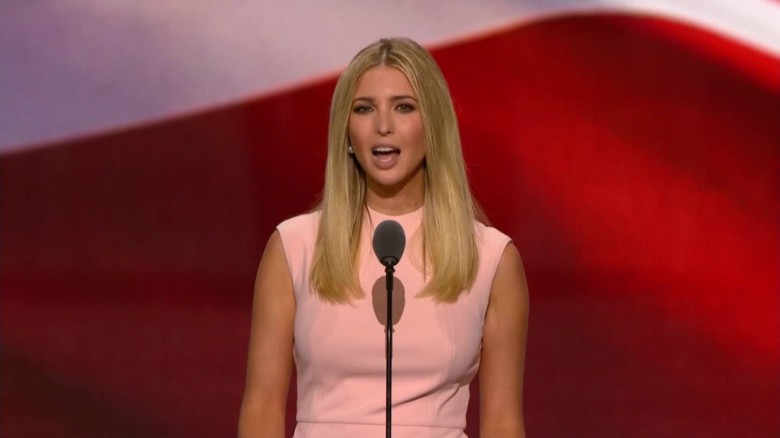At the RNC, Ivanka Trump sounded like Hillary Clinton
