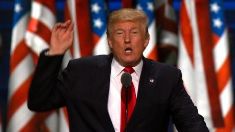 Trump: A speech like no other?