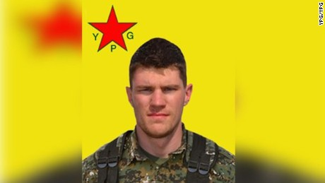 An American civilian fighting ISIS in Syria alongside Kurdish troops has died during ìa military campaign to free Manbij,î according to a statement on the official website of the Peopleís Protection Units (YPG). Levi Jonathan Shirley, a volunteer, was known by his fellow Kurdish fighters as Agir Servan. Shirley died on July 14 in Manbij, according to the YPG statement. Shirley first came to Syria in February 2015, joining the Kurdish Peopleís Protection Units in Rojava. He went back to the United States and returned to Syria in January 2016, fighting in Al-Jazira and Kobani before the offensive to recapture Manbij.  Shirleyís mother, Susan Shirley, told CNN on Thursday her son always wanted to join the U.S. Marine Corps but his eyesight was not good enough. ìHe was born with very poor eyesight,î said Shirley, ìbut had surgery as a teen. Even so, it was not enough to join the Marines.î The last contact Levi Jonathan Shirley had with his family was back in April with his sister. The family was notified of Shirleyís death by the U.S. Consulate in Turkey, Susan Shirley said. They called five days after her sonís death because ìit took a while to verify that it was him,î said Susan Shirley.
