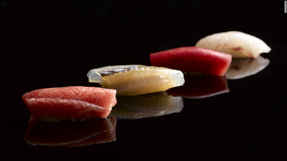1 Fullerton Road sushi restaurant Shoukouwa is the only Japanese restaurant in the new Singapore guide with two stars.