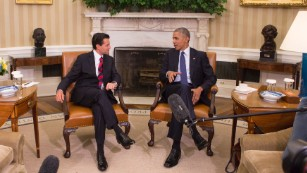 Obama and Mexico President discuss 'unbreakable' bond
