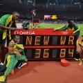 usain bolt 4x100m world record london 2012