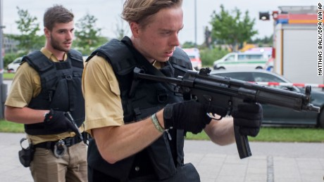 Deadly shooting at Munich mall
