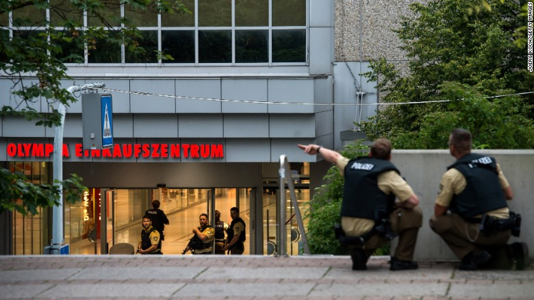 Witnesses describe the Munich shooting spree