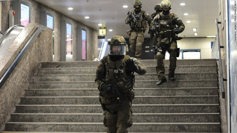 Munich shooting: Teen had documents about going on rampage, police say