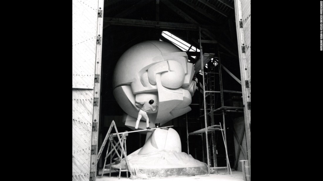 """German filmmaker Percy Adlon chronicled the sculpture's creation in his film """"Koenig's Sphere."""" The film was featured in the Tribeca Film Festival."""