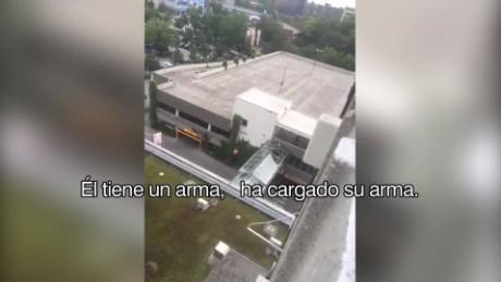 cnnee brk tiroteo munich video llamada techo_00001725