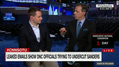 wikileaks clinton campaign manager robby mook intv tapper sotu_00011117.jpg