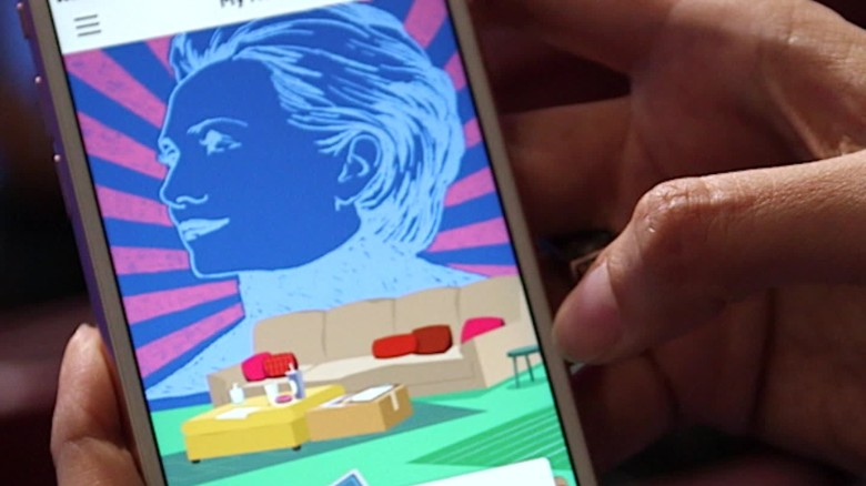 Inside the Clinton campaign's new smartphone app