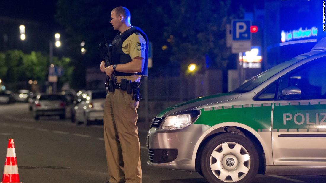 Syrian man kills himself and injures 12 at German festival