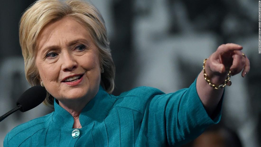 Can Clinton break through?