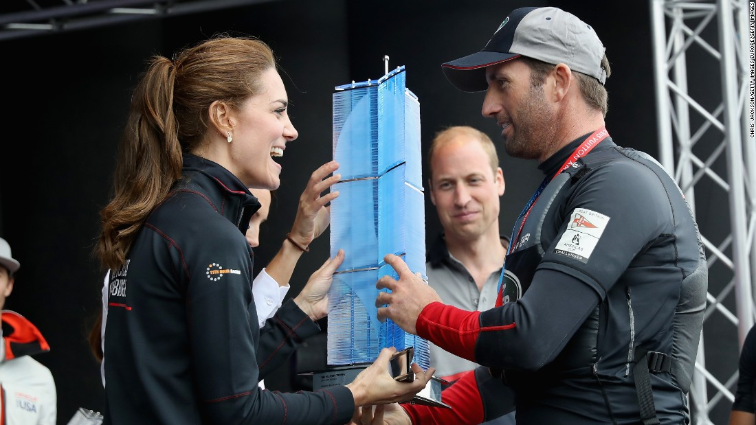 He has the royal backing of Catherine, Duchess of Cambridge -- who is the patron of his 1851 Trust, and has been a high-profile supporter in his bid to raise the reported £80 million ($105 million) he needs to fund his America's Cup campaign.