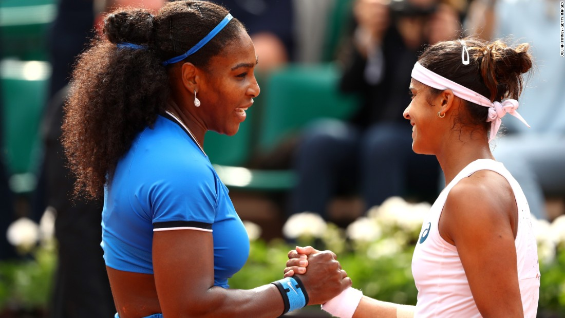 The 28-year-old was beaten by Serena Williams in the second round of this year's French Open, matching her best ever performance at a grand slam.