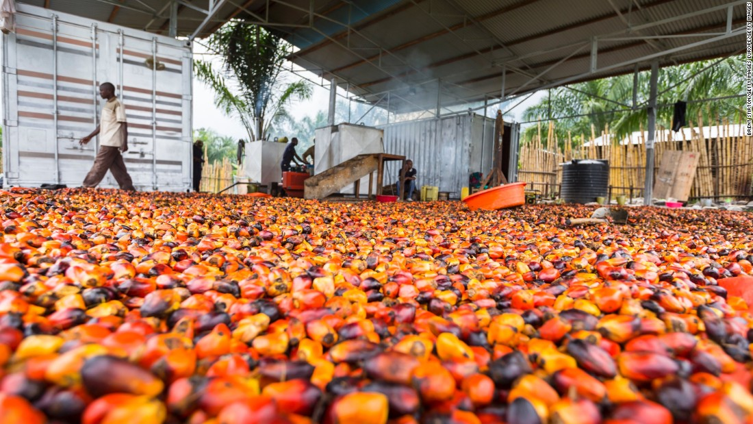 A new soap factory in Mutsora that uses palm oil was made possible by newly installed electricity lines.