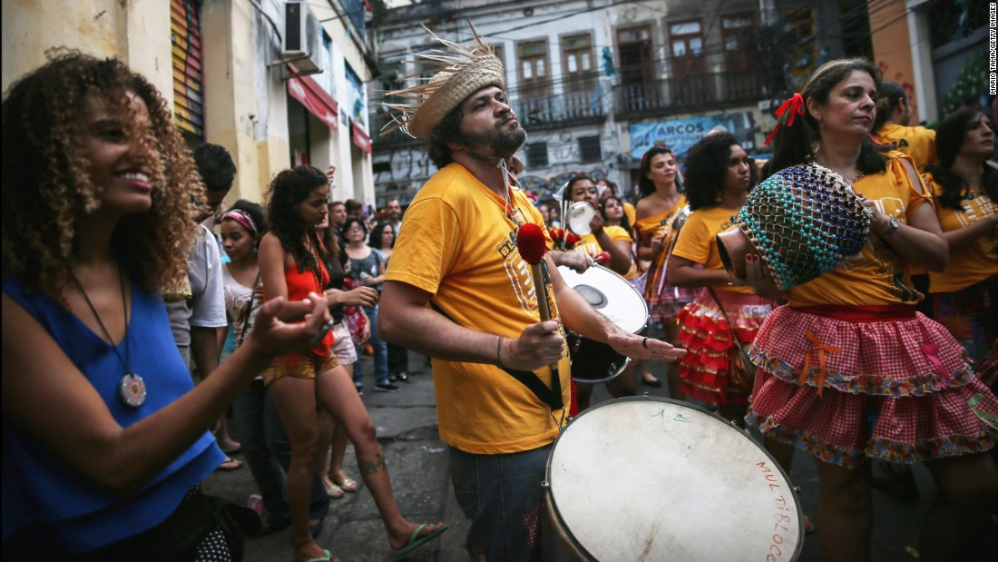 Street celebrations alive with drumming and dancing are a regular occurrence across the country.<br />
