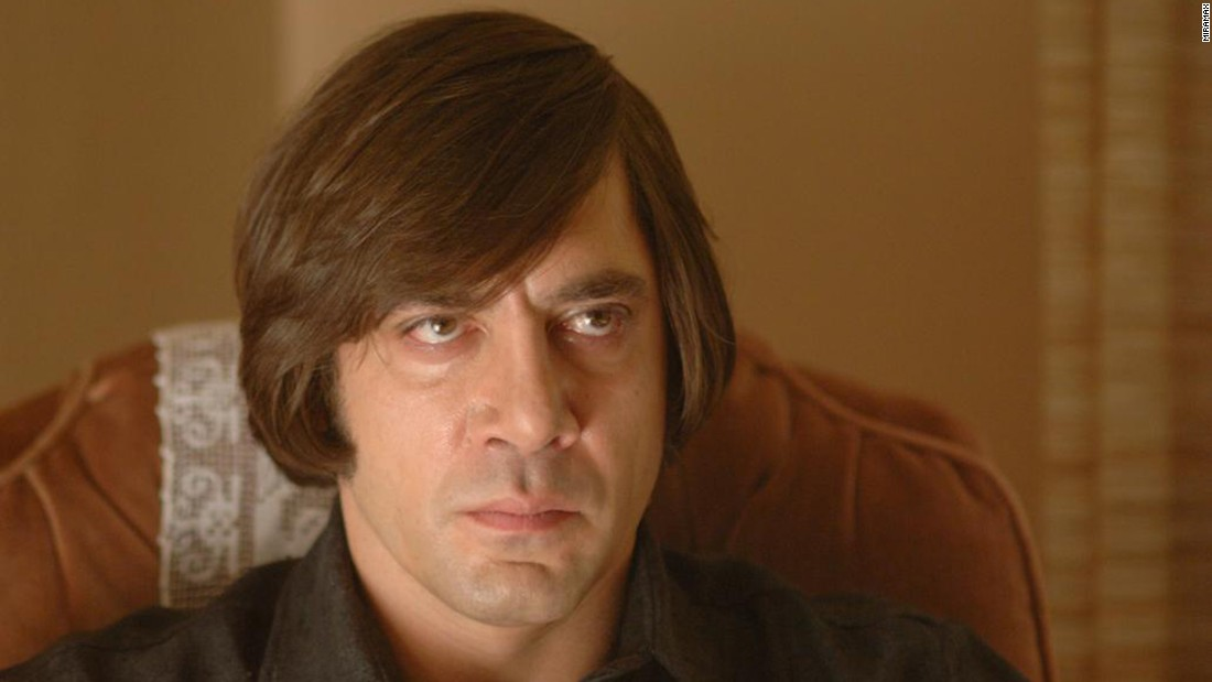 "<strong>""No Country for Old Men""</strong>:  Javier Bardem is a hit man in this film adaptation of the Cormac McCarthy novel of the same name. <strong>(Netflix, Amazon Prime) </strong>"