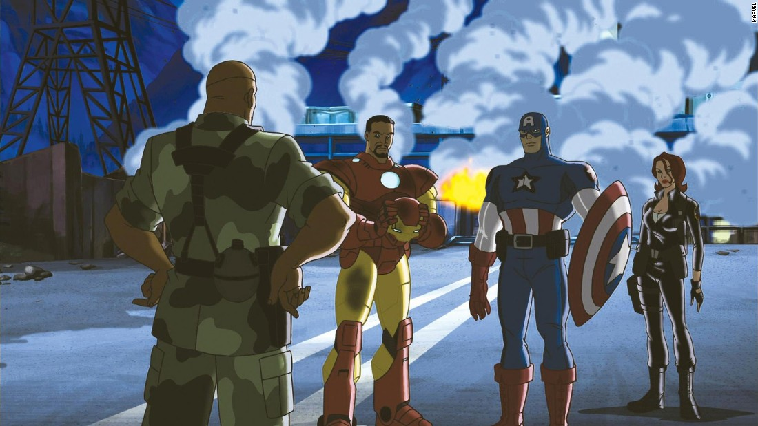 "<strong>""Ultimate Avengers""</strong>: Captain America leads a group of superheros in a battle against aliens in this animated movie. <strong>(Hulu)  </strong>"