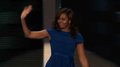 Michelle Obama, classy and strong