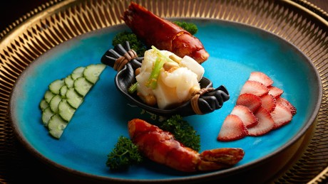 """""""Gastronomy is art for the senses,"""" says Duddell's executive chef Siu Hin Chi."""