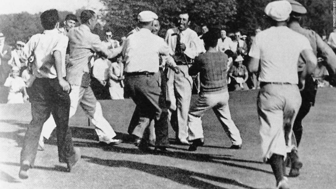 In 1936, Tony Manero won the U.S. Open on Baltusrol's Upper Course for his only major title.