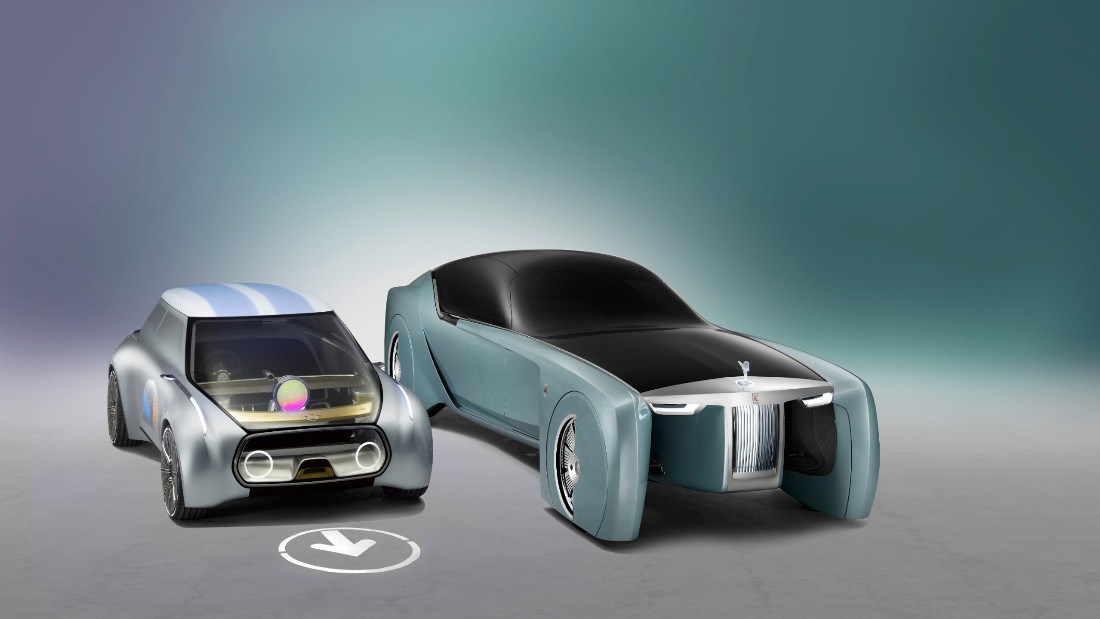 Rolls-Royce unveiled its first driverless vehicle in June this year, a concept car with no steering wheel but a virtual assistant named Eleanor. Owning company BMW's first autonomous car model, iNext, will hit the roads in 2021. It will be built to always protect human lives regardless of material damage, a spokesperson tells CNN, claiming computers make such decisions more efficiently than humans.