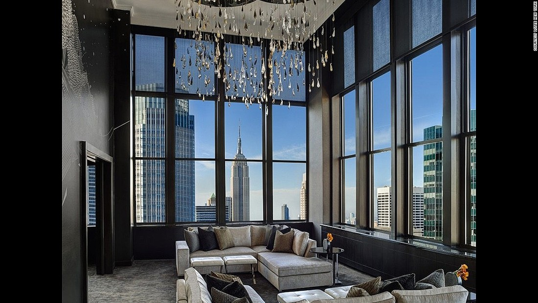 It's no surprise that Lotte New York Palace has been the setting for countless television shows and movies. Luxury hotel operator Lotte splurged on a $805-million renovation in 2015.