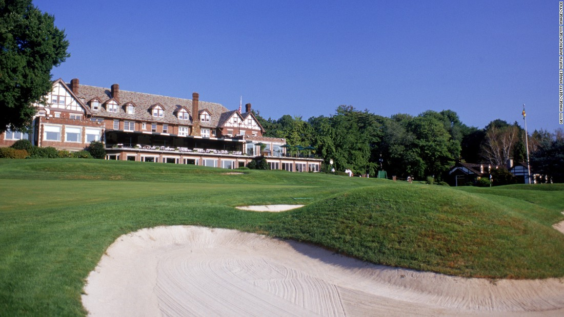 Baltusrol is one of only four U.S. golf courses to have National Historic Landmark status.