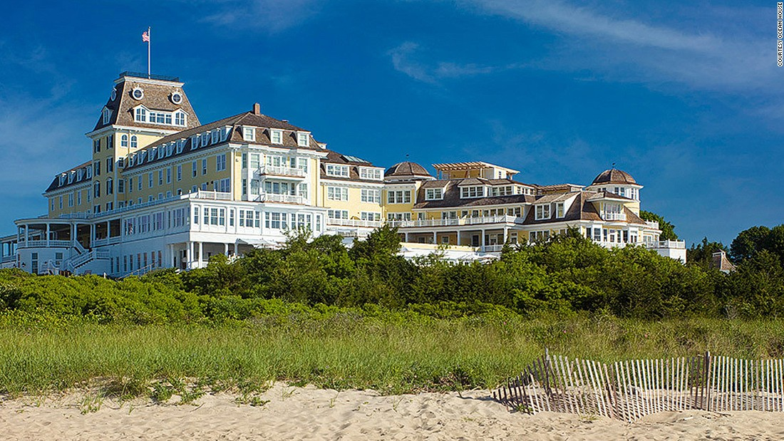 Built just after the Civil War in 1868, the Victorian-style Ocean House in Watch Hill, Rhode Island, is as rich in history as it is in style. The property also boasts a private white-sand beach exclusive to its guests.