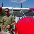 oshkosh experiemental planes pilot matt tisdale standing aircam