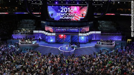 PHILADELPHIA, PA - JULY 26:  The crowd cheers after formally nominating Democratic presidential candidate Hillary Clinton on the second day of the Democratic National Convention at the Wells Fargo Center, July 26, 2016 in Philadelphia, Pennsylvania. Democratic presidential candidate Hillary Clinton received the number of votes needed to secure the party's nomination. An estimated 50,000 people are expected in Philadelphia, including hundreds of protesters and members of the media. The four-day Democratic National Convention kicked off July 25.  (Photo by Chip Somodevilla/Getty Images)