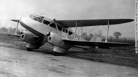 Visit England if you want to fly on a De Havilland Dragon Rapide.