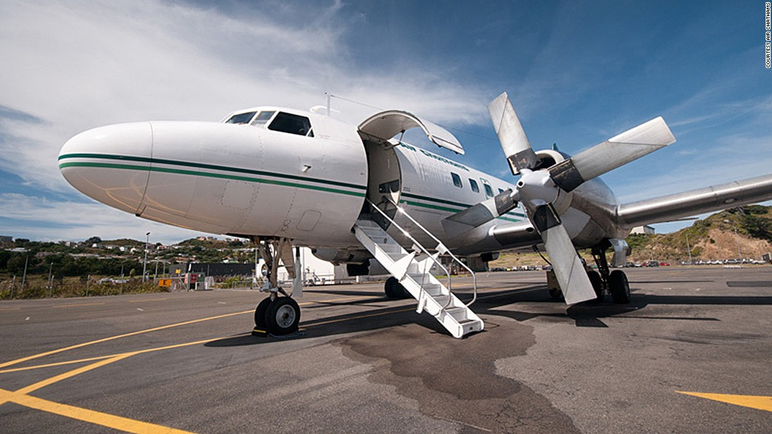 """Air Chathams is the only airline that still operates a Convair 580 nowadays. """"The Convair 580 was truly ahead of its time, and it comes with an exceptional level of system redundancy. It is very robust and able to operate effectively in all sort of climates,"""" says Duane Emeny of Air Chathams."""