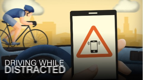 Police To Look For Distracted Drivers