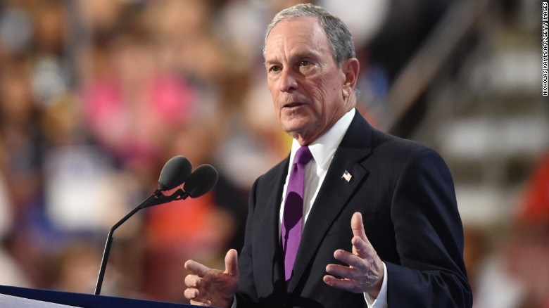 """""""I understand the appeal of a businessman President. But (Donald) Trump's business plan is a disaster in the making,"""" said Bloomberg, an independent. He said the Republican nominee is a """"risky, reckless, and radical choice."""""""