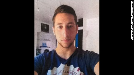 A picture obtained on July 27, 2016 shows Abdel Malik Petitjean, 19, one of the two men who stormed into a church on July 26 in the northern French town of Saint-Etienne-du-Rouvray during morning mass and cut the throat of a 86-year-old priest at the altar. Two jihadists who attacked a French church and brutally murdered a priest had pledged allegiance to the Islamic State group, a video showed on July 27. The attack in the Normandy town of Saint-Etienne-du-Rouvray came as France was still coming to terms with the Bastille Day killings in Nice claimed by IS.