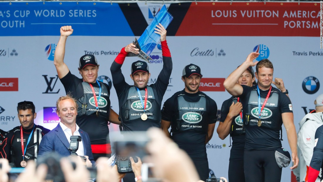 The hi-tech approach has given Ben Ainslie's team an edge in the America's Cup World Series.