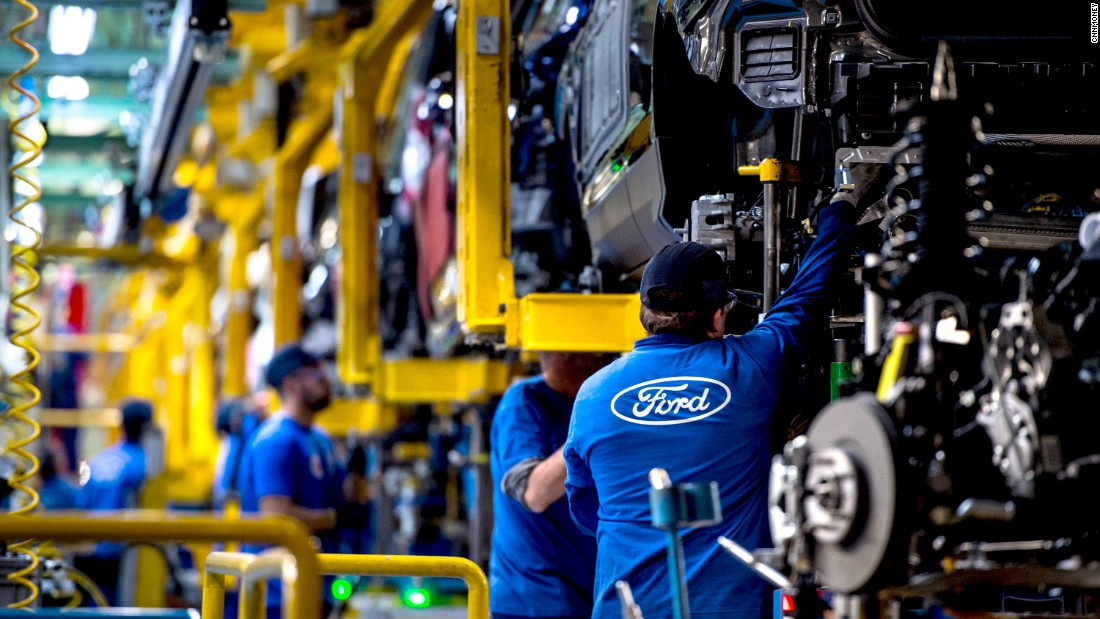 Ford to invest $1.2 billion in Michigan plants