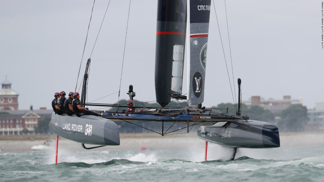 Then the focus turns to Bermuda, where Ainslie's Land Rover BAR will be one of the teams taking part in the Challenger competitions for the right to face America's Cup champion Oracle Team USA.