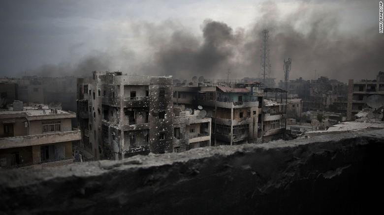 Aleppo has been a major battleground in Syria's five-year civil war.