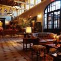adaptive reuse hotel emma lobby