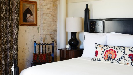 An 1894 brew house in San Antonio is now home to Hotel Emma.