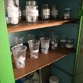 Medicine cabinet in local clinic