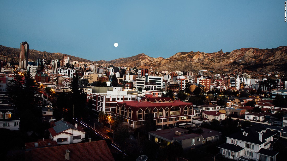 Perched at 11,910 feet above sea level, La Paz is the world's highest capital city.